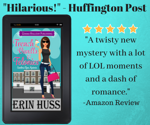 A twisty new mystery with a lot of LOL moments and a dash of romance
